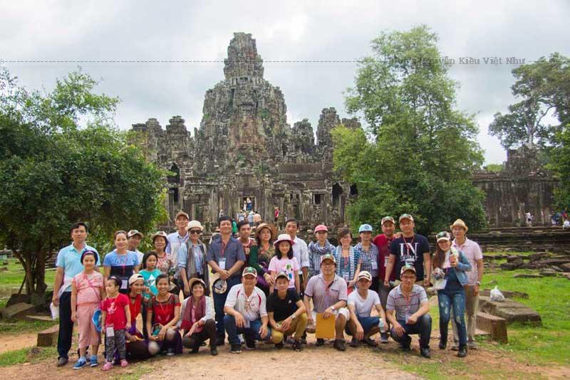 Một chuyến đi du lịch của công ty tnhh phát triển dự án Song Nam.
