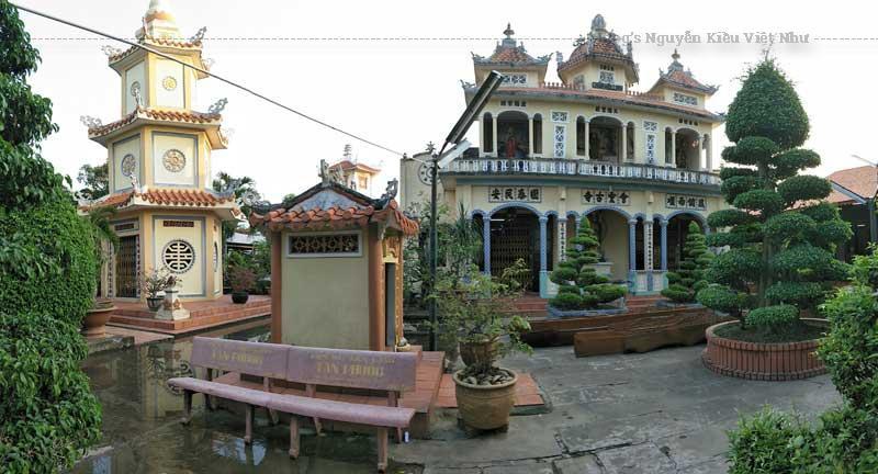 """chùa Hội Linh là cơ sở """"Việt cộng nằm vùng"""", từng cho một trung đội lính đến bao vây nhà chùa."""