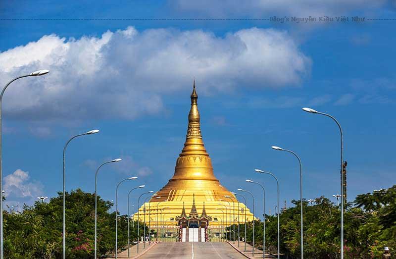 Chùa Uppatasanti hay còn gọi là ngôi chùa Hòa Bình là thắng cảnh nổi tiếng ở Naypyidaw, tân thủ đô của Myanmar. Trong chùa có bảo tồn một xá lị răng Phật từ Trung Quốc. Chùa Uppatasanti có hình dạng và kích thước gần giống với chùa Shwedagon ở Yangon với chiều cao 99m.