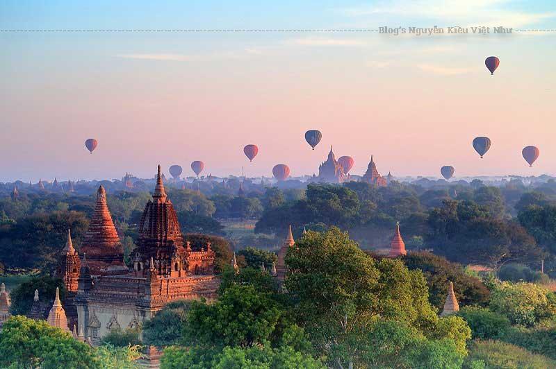 Với hàng nghìn ngôi chùa cổ kính trải rộng khắp đất nước, Myanmar mang đến cho du khách cảm nhận về bầu không khí thanh bình không nơi nào có được.