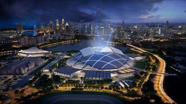 Là một phần trong tổ hợp kiến trúc thể thao có trị giá lên tới 1.3 tỷ Đôla Singapore.