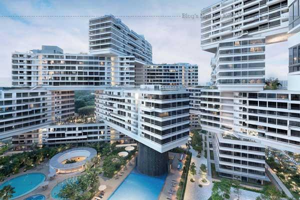 Một khu chung cư vừa được trao giải Công trình Kiến trúc Thế giới của năm tại Liên hoan Kiến trúc Thế giới 2015.