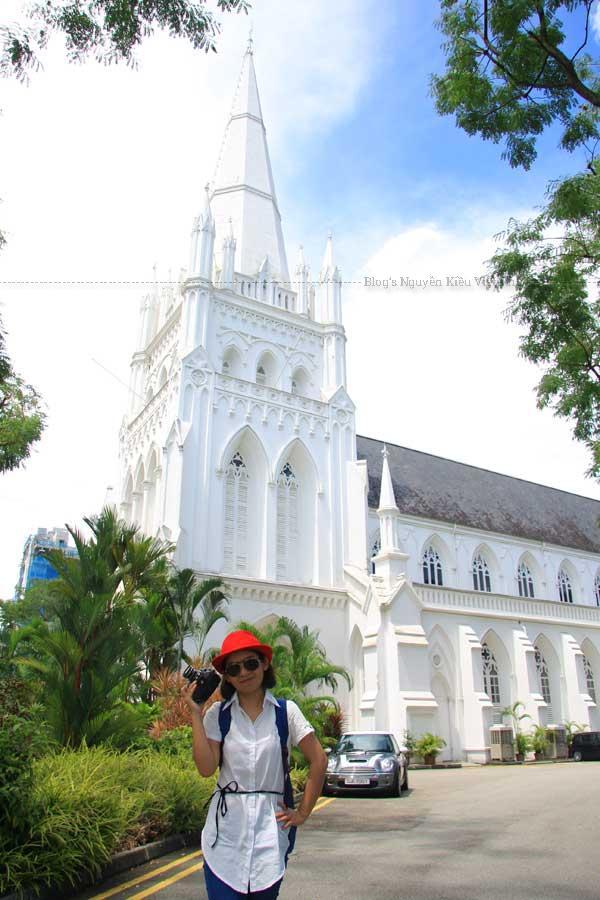 Hãy quay ngược thời gian trở về quá khứ và chiêm ngưỡng vẻ đẹp của các tòa nhà từ thời thuộc địa, điển hình như Nhà thờ St Andrew.