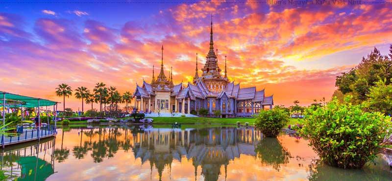 Kiến trúc đẹp là một trong những tiêu chí giúp du lịch Thái Lan phát triển một cách cực thịnh.
