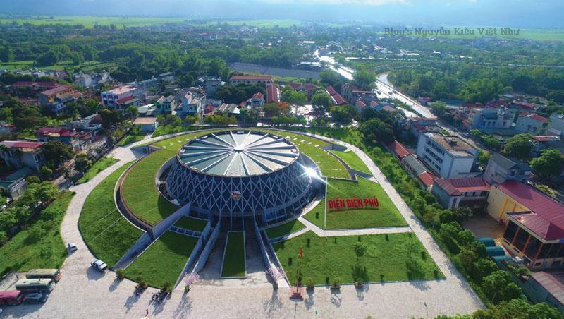 Bảo tàng Chiến thắng lịch sử Điện Biên Phủ là không gian sống động ghi dấu về chiến thắng lừng lẫy năm châu, chấn động địa cầu năm xưa.