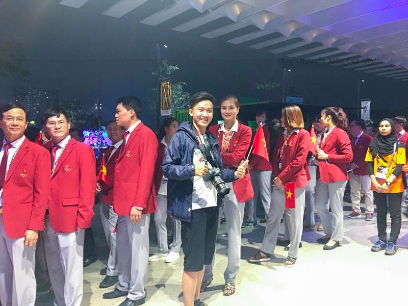 Đội tuyển bóng chuyền nữ Việt Nam tại Sea Game 29.