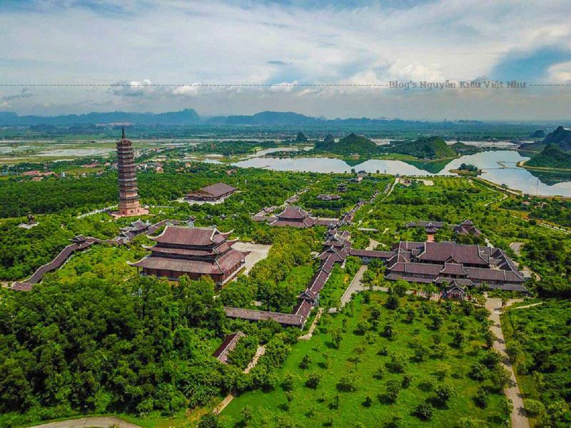 Chùa Bái Đính là ngôi chùa lớn nhất và sở hữu nhiều kỷ lục nhất ở Việt Nam.