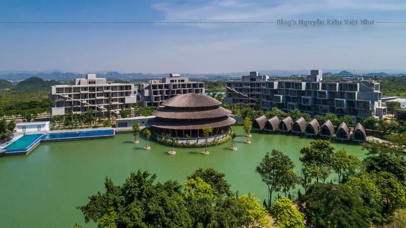 Nhà hàng Vedana thuộc phức hợp nghỉ dưỡng Vedana Resort do công ty TNHH Võ Trọng Nghĩa quy hoạch.