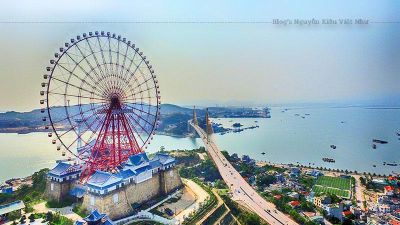 Sun Wheel Hạ Long hiện đại ngày nay sở hữu với tổng cộng 64 cabin và sức chứa 384 hành khách và công suất 1.200 khách/giờ.