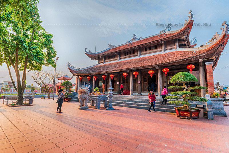 Đền Xã Tắc là một di tích lịch sử văn hóa có quy mô lớn và lịch sử lâu đời.