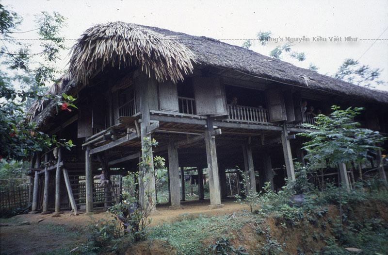 Các ngôi nhà gỗ đang trở nên hiếm dần. Ngói bằng đất sét nung ở nhiệt độ cao trong lò củi gỗ.