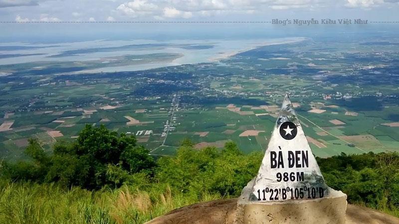 Theo Gia Định thành thông chí, tên gốc của núi Bà Đen là Bà Dinh.
