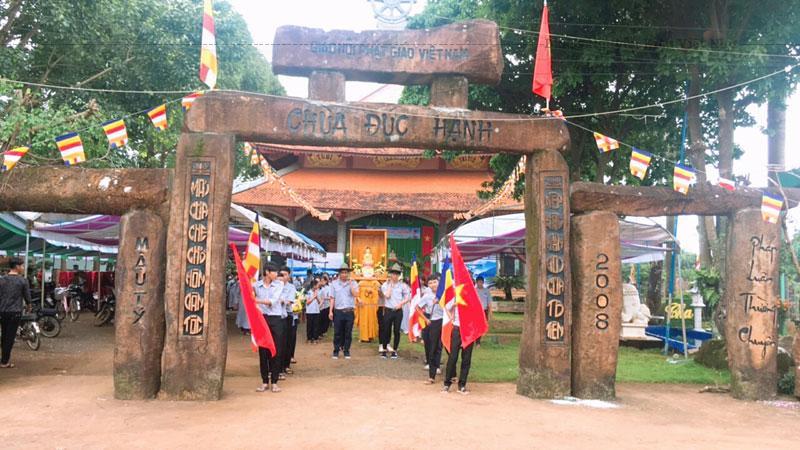 Đây là ngôi chùa duy nhất từ trước đến nay ở Bình Phước được Trung tâm Sách kỷ lục Việt Nam xác lập hai kỷ lục bởi những độc đáo trong xây dựng.