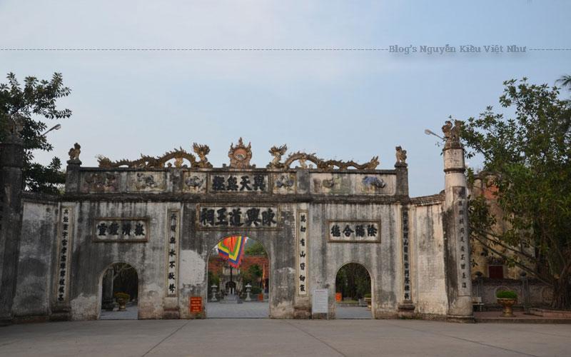 Đây là di tích quan trọng thuộc khu di tích Côn Sơn - Kiếp Bạc.