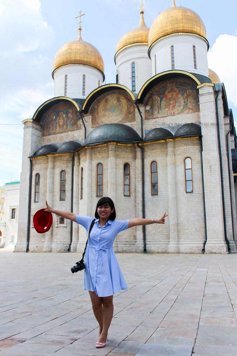 Nhà thờ ban đầu được xây dựng vào năm 1883, bị phá hủy vào năm 1931 dưới thời Stalin và xây dựng lại một cách trung thực theo bản mẫu cũ trong giai đoạn 1995-2000.