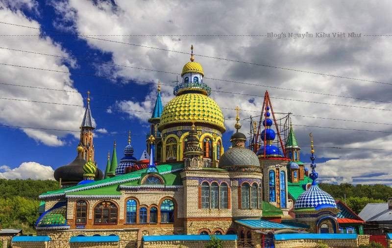 Khanov dự tính xây 16 mái vòm tương ứng với 16 tôn giáo lớn trên thế giới, tuy nhiên thật không may ông sẽ không thể trông thấy nó hoàn thành vì ông đã qua đời vào tháng 2/2013.