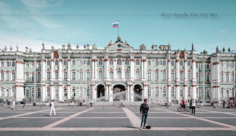 Cung điện Mùa Đông ở St Petersburg là một trong những công trình mang tính chất bước ngoặt trong lịch sử.