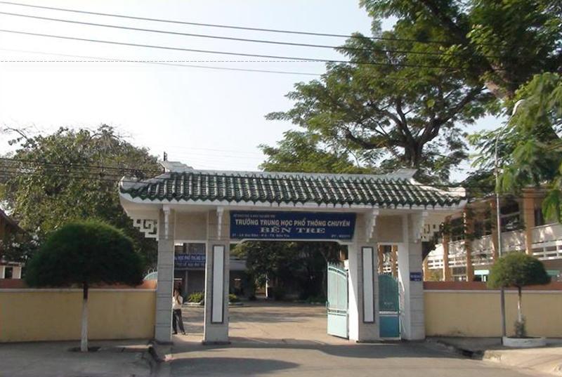 Cơ sở cũ đã chuyển cho trường THCS Thành phố Bến Tre.