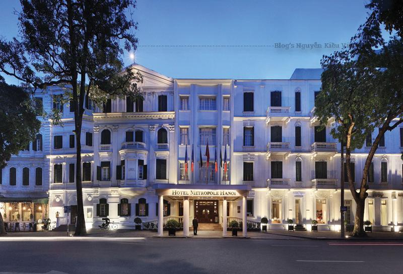 Được xây dựng năm 1901 bởi 2 nhà đầu tư người Pháp, Metropole là khách sạn 5 sao đầu tiên và đồng thời là khách sạn lâu đời nhất ở Hà Nội.
