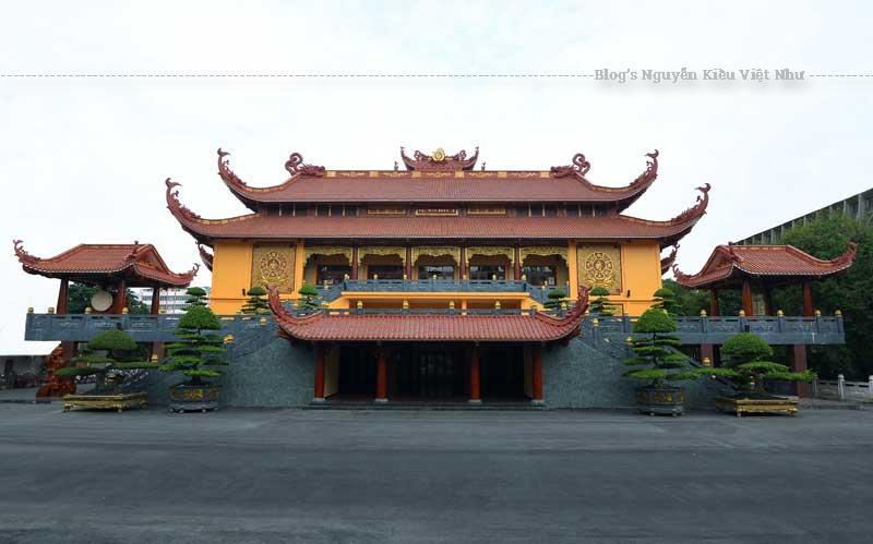 Khuôn viên Việt Nam Quốc Tự trong khoảng thời gian 10 năm (1975-1985) bị bỏ hoang phế nên nhà nước tạm thời trưng dụng xây dựng trung tâm vui chơi giải trí của thành phố - Khu du lịch Kỳ Hoà và Nhà hát Hòa Bình.