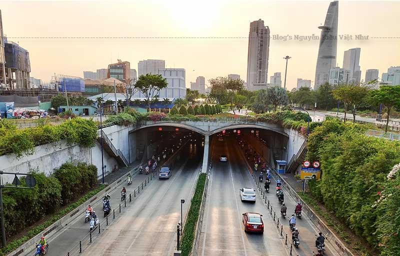 Hầm Thủ Thiêm là hạng mục quan trọng nhất trong dự án đại lộ Đông - Tây.