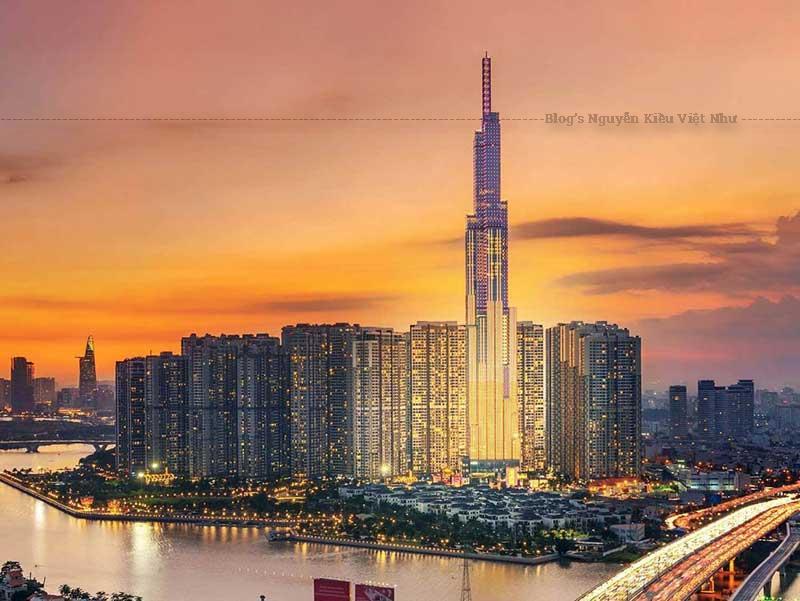 Landmark 81 có thiết kế 81 tầng, tổng diện tích sàn là 241.000 m2.